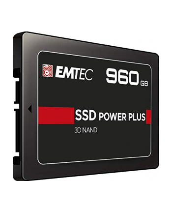 Emtec X150 SSD Power Plus 960 GB Solid State Drive(black, SATA 6 GB / s, 2.5 inches)