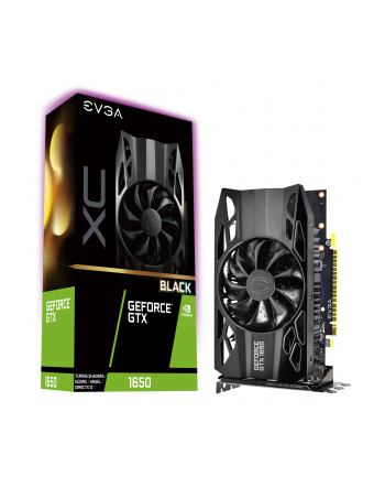 EVGA GeForce GTX 1650 XC Black GAMING, 4GB GDDR5, DP, HDMI