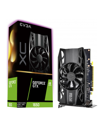EVGA GeForce GTX 1650 XC GAMING, 4GB GDDR5, DP, HDMI