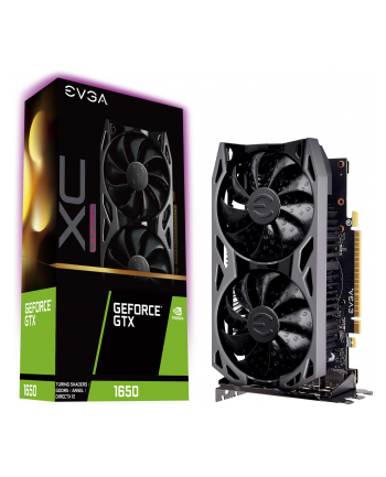 EVGA GeForce GTX 1650 XC ULTRA GAMING, 4GB GDDR5, Metal Backplate