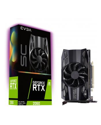 EVGA GeForce RTX 2060 SC GAMING, 6GB GDDR6, HDB Fan