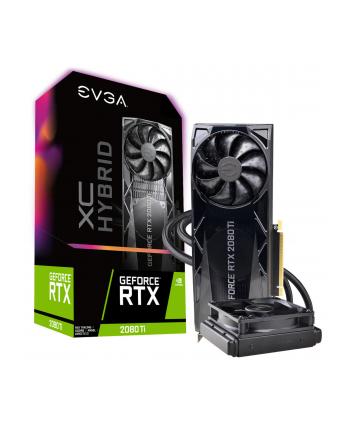 EVGA GeForce RTX 2080 Ti XC HYBRID GAMING, 11GB GDDR6, HYBRID, RGB LED Logo