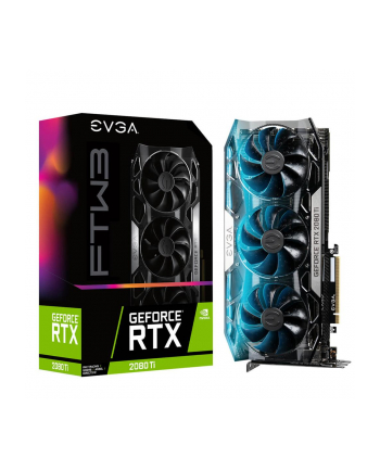 EVGA GeForce RTX 2080 Ti FTW3 GAMING, 11GB GDDR6, iCX2 Technology, RGB LED