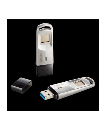 Apacer Pamięć USB AH651 32GB USB 3.1 Srebrna czytnik linii papilarnych