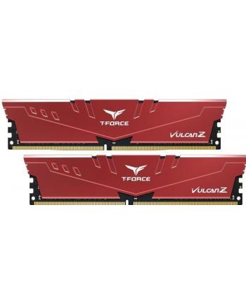 Team Group Pamięć Vulcan Z DDR4 16GB (2x8GB) 3200MHz CL16 1.35V XMP 2.0 Czerwona