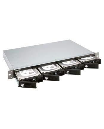 QNAP Rack 1U 4-bay 3.5'' SATA HDD USB 3.0 type-C hardware RAID external enclosure