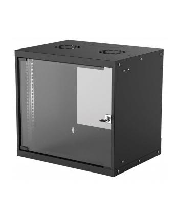 intellinet network solutions Intellinet Szafa wisząca 19'' 540/400mm szklane drzwi, flat pack, czarna