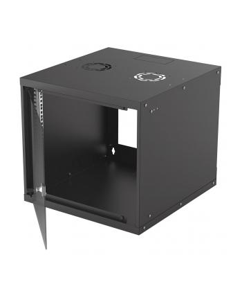 intellinet network solutions Intellinet Szafa wisząca 19'' 540/560mm szklane drzwi, flat pack, czarna