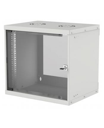 intellinet network solutions Intellinet Szafa wisząca 19'' 540/560mm szklane drzwi, flat pack, szara