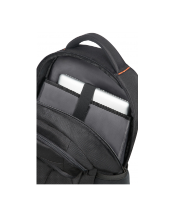 Plecak AT by SAMSONITE 33G09003 ATWORK 17,3'' komp, dok, tblt, czarno/pomarańcz