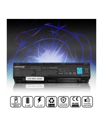whitenergy Bateria PA5024U-1BRS do laptopa Toshiba Satellite C850, C850D, C855, C870, C875, L850, L855, L870, L875, 10.8-11.1V, 5200mAh, czarna