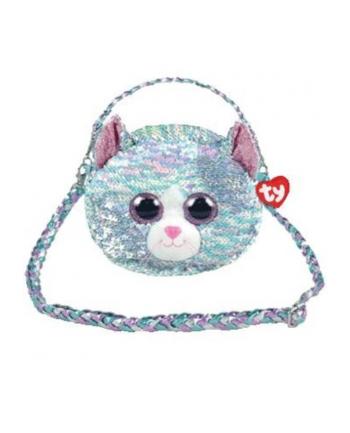 ty inc. TY Fashion Sequins cekinowa torba na ramię WHIMSY - kot 95133 TY