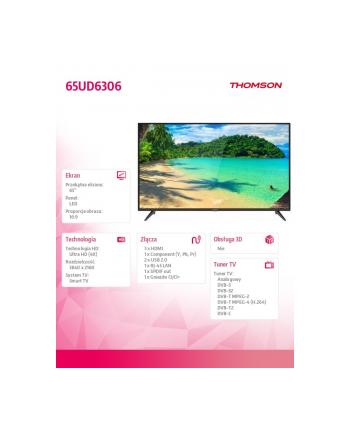 thomson Telewizor 4K 65 65UD6306