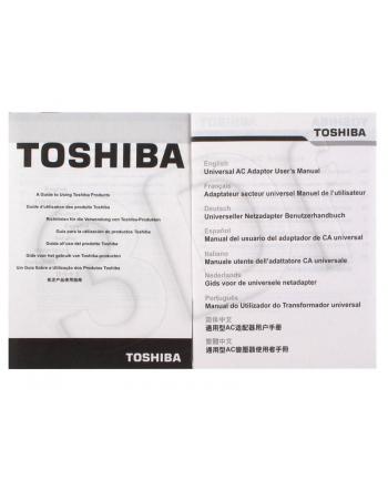 ZASILACZ TOSHIBA 19V DC 65W  3-pin