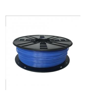 Filament Gembird ABS niebiesko-biały | 1,75mm | 1kg