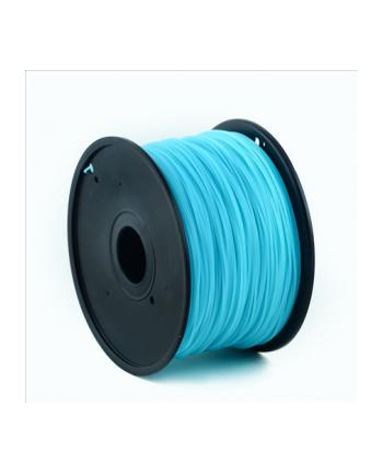 Filament Gembird ABS świetlisty niebieski   1,75mm   1kg