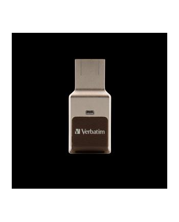 Verbatim USB 3.0 64GB FINGERPRINT SECURE, R/W 80/70MBs