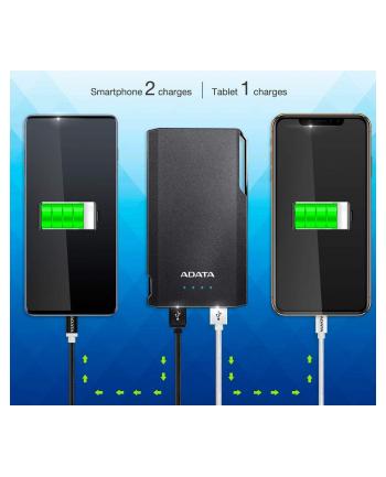 ADATA S10000 Power Bank, 10000mAh, white