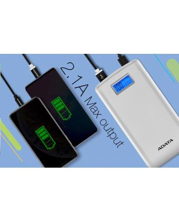 ADATA S20000D Power Bank, 20000mAh, black