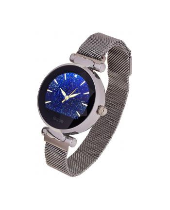 Smartwatch Garett Women Lisa srebrny, stalowy