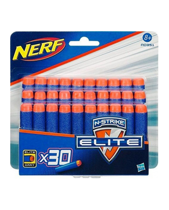 Hasbro Nerf N-Strike Elite 30s Darts Refill, Nerf Gun(Blue / Orange)