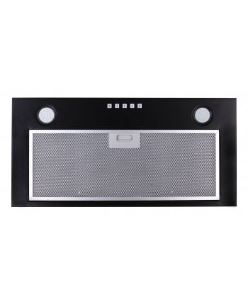 Okap podszafkowy CIARKO SL-BOX 60 Czarny (171 m3/h; 600mm; kolor czarny)