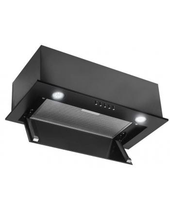 Okap podszafkowy CIARKO SL-BOX Glass 60 Czarny (350 m3/h; 600mm; kolor czarny)