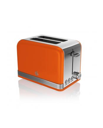 Toster Swan RETRO ST19010ON (810 W; kolor pomarańczowy)