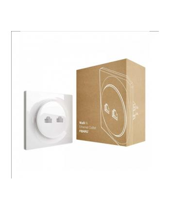 Gniazdko Walli N Ethernet Outlet FIBARO Walli FGWEEU-021