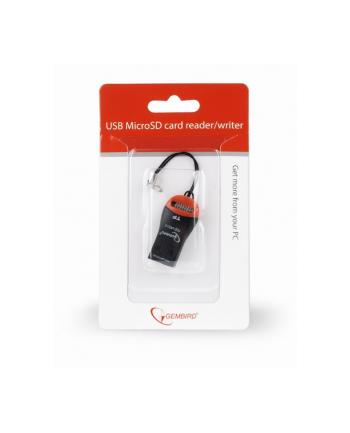 Czytnik kart GEMBIRD FD2-MSD-3 (Zewnętrzny; MicroSD  MicroSDHC)