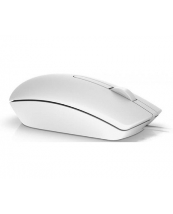 Mysz Dell MS116 570-AAIP (optyczna; 1000 DPI; kolor biały)