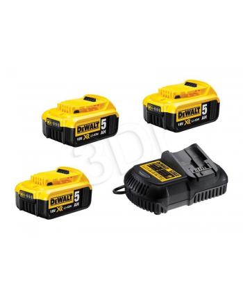 Zestaw akumulatorów z ładowarką DeWalt DCB115P3-QW (Li-Ion; 230 V)