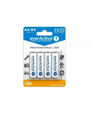 Zestaw akumulatorków everActive Professional line EVHRL6-2600 (2600mAh ; Ni-MH)