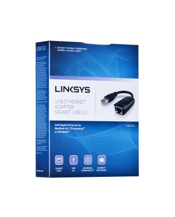 Karta sieciowa Linksys USB3GIG-EJ (RJ-45  USB 30; 1x 10/100/1000Mbps)