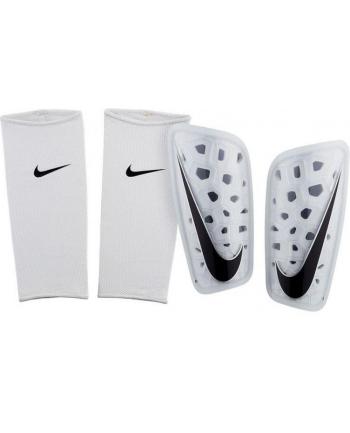 Ochraniacz piłkarska Nike Mercurial Lite SP2120 101 (uniwersalne; L; kolor biały)