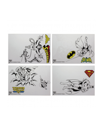 Zestaw naklejek dekoracyjnych na laptopa Paladone DC Comics Gadget