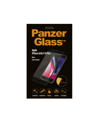 Szkło ochronne hartowane PanzerGlass 2619 (do iPhone 6 Plus  do iPhone 6s Plus  do iPhone 7 Plus  do iPhone 8 Plus)