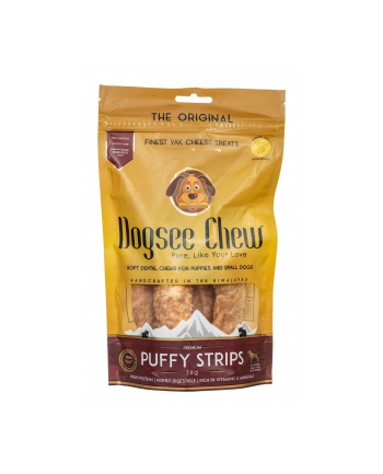 Dogsee Chew Puffie Strips 70g