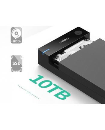 Obudowa na dysk UGREEN 50422 (35 ; USB 30; Tworzywo sztuczne ABS; kolor czarny)
