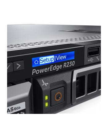 dell R230 4x35 E3-1220v5 8GB 2x300GB H330 i8 Bas 250W