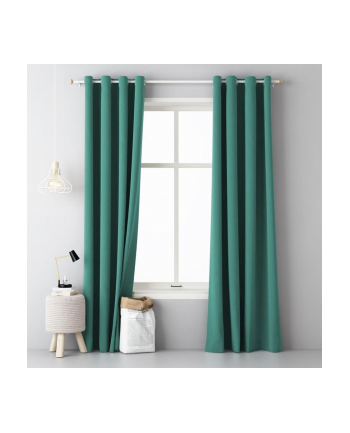 Zasłona na okno Room99 (140x250 cm; kolor zielony)
