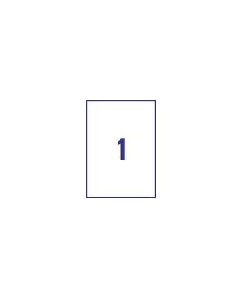 Zestaw etykiet uniwersalne Do nadruku AVERY Zweckform ELA027 (210mm x 297mm; Papier; kolor biały)