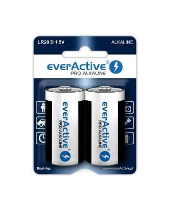 Zestaw baterii alkaliczne everActive EVLR20-PRO (x 2)