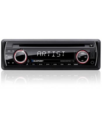 Radioodtwarzacz samochodowe Blaupunkt Manchester 110 (CD + USB)