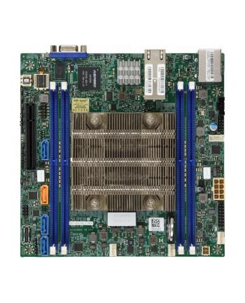 Płyta główna Supermicro MBD-X11SDV-4C-TLN2F-O (BGA 2518; 4x DDR4 LRDIMM  DDR4 RDIMM; Mini ITX)