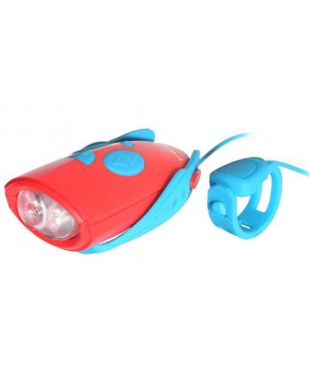 Hornit - lampka z imitatorem 25 dźwieków red blue
