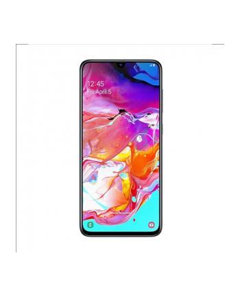 samsung electronics polska Smartfon Samsung Galaxy A70 (6 7 ; 2400x1080; 128GB; 6GB; Czytnik linii papilarnych w ekranie; kolor czarny )