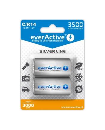 Zestaw akumulatorków everActive EVHRL14-3500 (3500mAh ; Ni-MH)