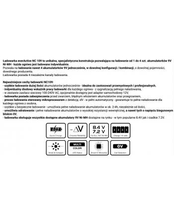 Ładowarka everActive NC109 (Brak danych)