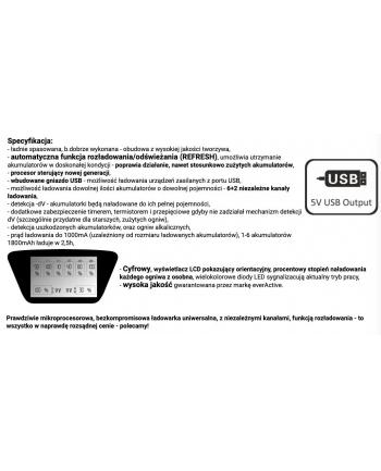Ładowarka everActive NC900U (Brak danych)